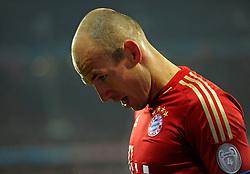 13.03.2013, Fussball Champions League Achtelfinale Rückspiel: FC Bayern München - FC Arsenal London, In der Allianz-Arena München. Arjen Robben (Bayern München)