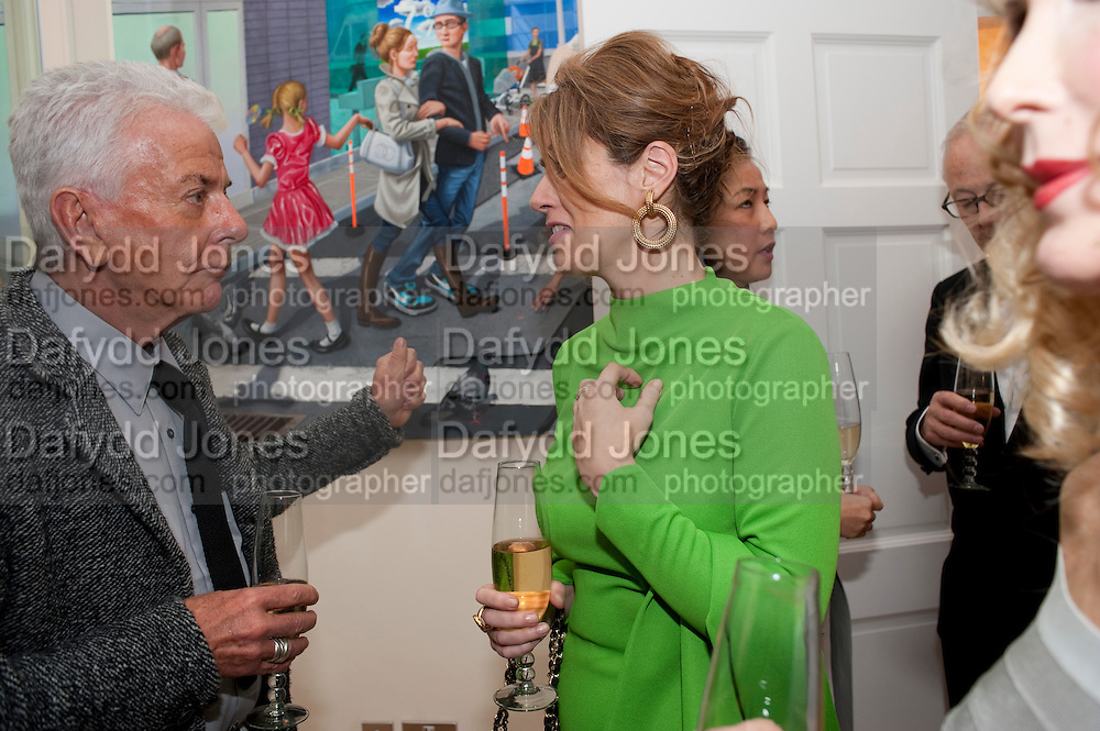 NICKY HASLAM; PETRONELLA WYATT, Mrs. Richard Briggs at home.  Sloane Gardens. London. 20 October 2011. <br /> <br />  , -DO NOT ARCHIVE-© Copyright Photograph by Dafydd Jones. 248 Clapham Rd. London SW9 0PZ. Tel 0207 820 0771. www.dafjones.com.