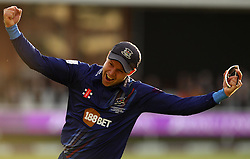 Gloucestershire's Geraint Jones celebrates winning The Royal London One Day Trophy - Mandatory byline: Robbie Stephenson/JMP - 07966 386802 - 19/09/2015 - Cricket - Lord's Cricket Ground - London, England - Gloucestershire CCC v Surrey CCC - Royal London One-Day Cup Final