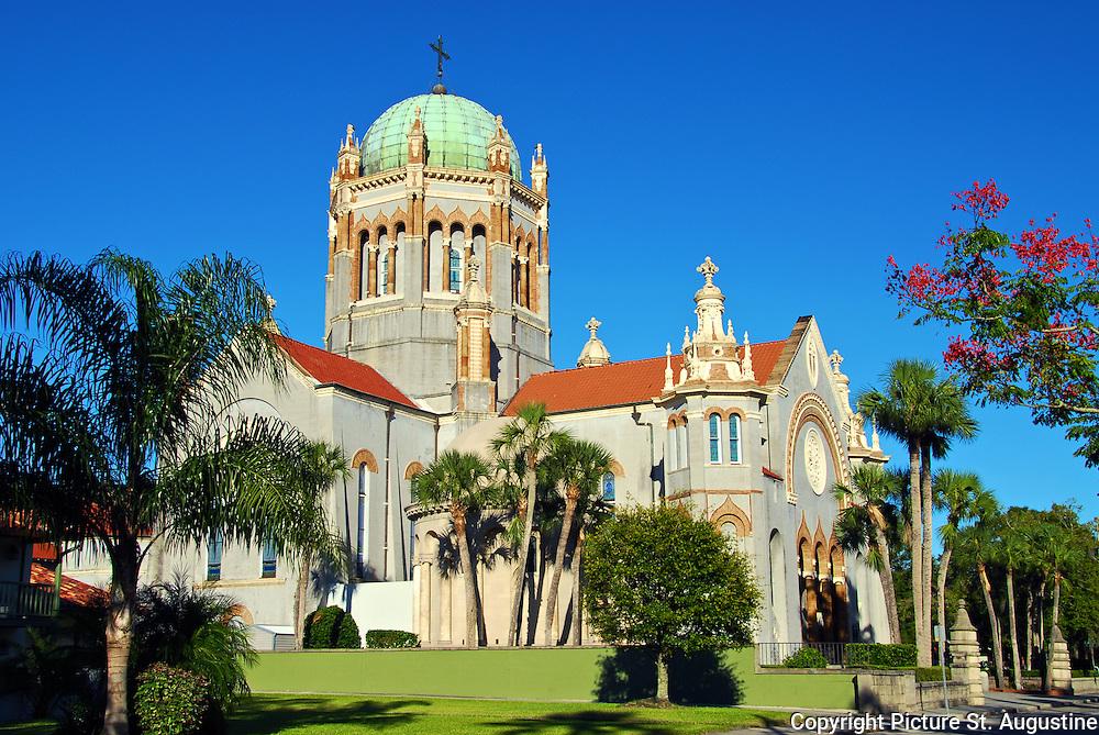 """Flagler"" Memorial Presbyterian Church in St. Augustine, Florida."