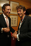 Toby Rowland and Daniel Hunt, Plum Sykes, book launch party, Annabel's, Berkeley Square, London, W1,10 May 2006.  Matthew Williamson, Catherine Vautrin, Laudomia Pucci host party to celebrate 'The Debutante Divorcee'. ONE TIME USE ONLY - DO NOT ARCHIVE  © Copyright Photograph by Dafydd Jones 66 Stockwell Park Rd. London SW9 0DA Tel 020 7733 0108 www.dafjones.com
