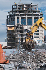 Christchurch-Demolition continues in central area