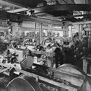 The Studebaker Corporation's motor assembly room, 1923.