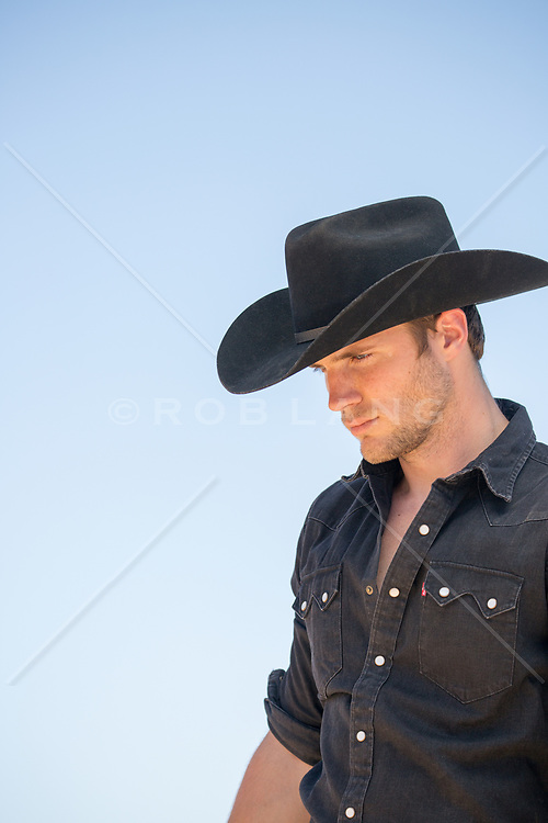 Portrait of an All American Cowboy