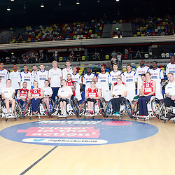 GB men vs Puerto Rico basketball at the Copper Box Arena. 11/08/2013 (c) MATT BRISTOW