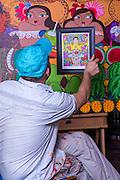 Rolo de Seda, Artista Plástico panameño.©Victoria Murillo/Istmophoto.com