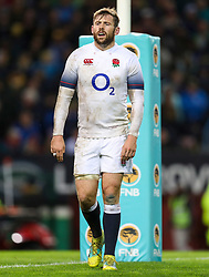 Elliot Daly of England- Mandatory by-line: Steve Haag/JMP - 23/06/2018 - RUGBY - DHL Newlands Stadium - Cape Town, South Africa - South Africa v England 3rd Test Match, South Africa Tour