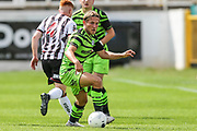 Forest Green Rovers Dayle Grubb(8) on the ball during the Pre-Season Friendly match between Bath City and Forest Green Rovers at Twerton Park, Bath, United Kingdom on 27 July 2019.