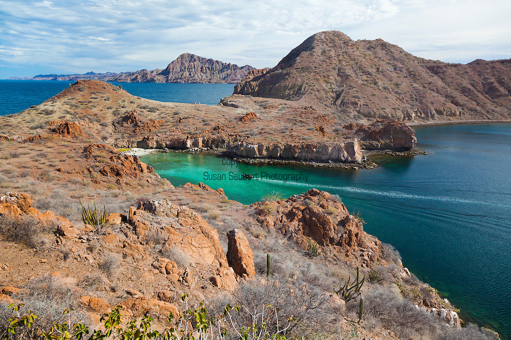 "Isla Danzante, ""The Island of the Dancer,"" in the Gulf of California, Baja California, Mexico"