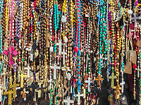 Memorial beads at a shrine in New Mexico, United States