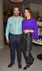 21 November 2019 - Sam Harrison and sister Daisy Harrison at the launch of Sam's Riverside Restaurant, 1 Crisp Walk, Hammersmith hosted by owner Sam Harrison, Edward Taylor and Jack Brooksbank.<br /> <br /> Photo by Dominic O'Neill/Desmond O'Neill Features Ltd.  +44(0)1306 731608  www.donfeatures.com