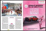 Giro d'Italia 2017, Sportweek RCS.<br /> Sportweek n21 03-06-2017 pag8