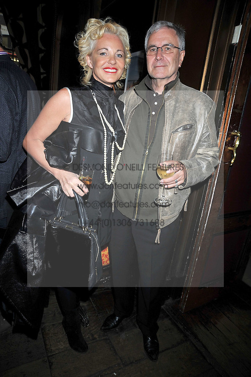AMANDA ELIASCH and NIALL WATSON at a reception to celebrate the launch of Liberatum's Russian Anglo Arts Festival (Anglomockba)  held at Sketch, London on 27th April 2009.