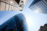 Skyscraper and gherkin