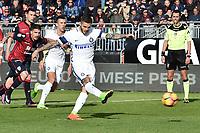 Cagliari 05-03-2017 Sadio San'Elia Football Calcio Serie A 2016/2017 Cagliari - Inter foto Antonello Sammarco/Image Sport/Insidefoto<br /> nella foto: gol Mauro Icardi Goal Celebration