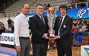 DESCRIZIONE : Trento Nazionale Italia Uomini Trentino Basket Cup Italia Belgio Italy Belgium<br /> GIOCATORE : premiazione trento<br /> CATEGORIA : premiazione coppa premio awards<br /> SQUADRA : Italia Italy<br /> EVENTO : Trentino Basket Cup<br /> GARA : Italia Belgio Italy Belgium<br /> DATA : 12/07/2014<br /> SPORT : Pallacanestro<br /> AUTORE : Agenzia Ciamillo-Castoria/A.Scaroni<br /> Galleria : FIP Nazionali 2014<br /> Fotonotizia : Trento Nazionale Italia Uomini Trentino Basket Cup Italia Belgio Italy Belgium