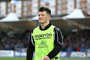 Glasgow Warriors replacement George Horne (21)  during the Heineken Champions Cup match between Glasgow Warriors and Cardiff Blues at Scotstoun Stadium, Glasgow, Scotland on 13 January 2019.