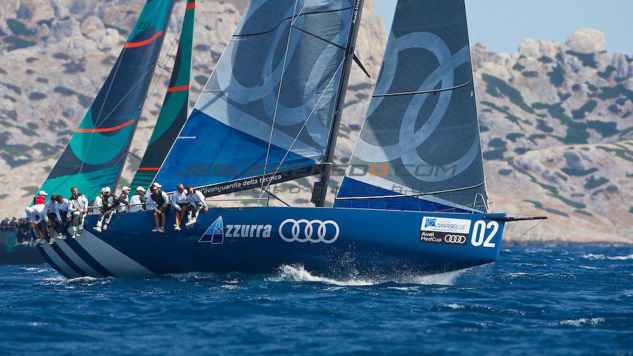 Audi Medcup circuit 2011,Marseille,COASTAL RACE