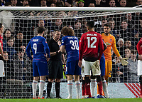Football - 2018 / 2019 Emirates FA Cup - Fifth Round: Chelsea vs. Manchester United <br /> <br /> <br /> at Stamford Bridge<br /> <br /> COLORSPORT/DANIEL BEARHAM