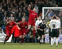 Photo: Chris Ratcliffe.<br />Luton Town v Watford. Coca Cola Championship.<br />02/01/2006.<br />Malkay Mackay celebrates the second Watford goal.