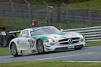 #30 Alistair MacKinnon/Lewis Plato - RAM Racing, Mercedes AMG GT3, PRO/AM during first practice for the Avon Tyers British GT Championship as part of the British GT Championship at Oulton Park, Little Budworth, Cheshire, United Kingdom. April 04 2015. World Copyright Peter Taylor/PSP. Copy of publication required for printed pictures.  Every used picture is fee-liable.http://archive.petertaylor-photographic.co.uk