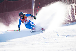 February 15, 2018 - Pyeongchang, South Korea - SOPHIA GOGGIA of Italy on her first run at the Womens Giant Slalom event Thursday, February 15, 2018 at the Yongpyang Alpine Centerl at the Pyeongchang Winter Olympic Games.  Photo by Mark Reis, ZUMA Press/The Gazette (Credit Image: © Mark Reis via ZUMA Wire)