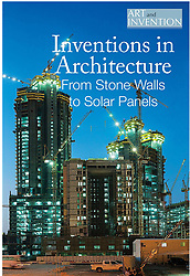 Book cover. Inventions in Architecture.