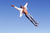 Joy of flying --- Image by © Jim Cummins/CORBIS