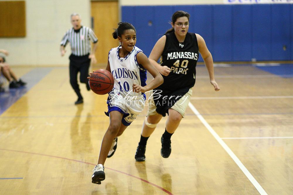 MCHS JV Girls Basketball.vs Manassas Park.2/1/2008..