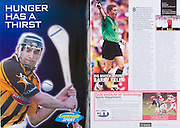 All Ireland Senior Hurling Championship Final,.03.09.2006, 09.03.2006, 3rd September 2006,.Senior Kilkenny 1-16, Cork 1-13,.Minor Tipperary 2-18, Galway 2-7.3092006AISHCF,.Lucozade Sport,