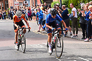 Women Road Race 129,4 km, Elisa Longo Borghini (Italy), Anna Van Der Breggen (Netherlands), during the Cycling European Championships Glasgow 2018, in Glasgow City Centre and metropolitan areas, Great Britain, Day 4, on August 5, 2018 - Photo Dario Belingheri / BettiniPhoto / ProSportsImages / DPPI - Belgium out, Spain out, Italy out, Netherlands out -
