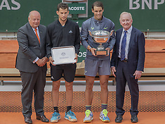 Rafael Nadal wins 12th French Open title - 9 June 2019