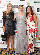 29/9/14***NO REPRO FEE***Pictured are Fiona White, Eleanor Purcell and Marie O'Connor at the 11th Q Ball in aid of Spinal Injuries Ireland at The Ballsbridge Hotel last night Pic: Marc O'Sullivan