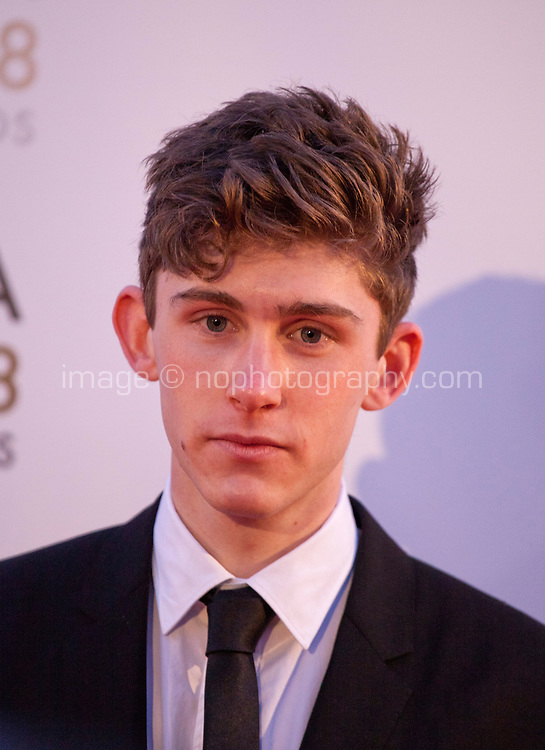 Actor Fionn O'Shea at the IFTA Film & Drama Awards (The Irish Film & Television Academy) at the Mansion House in Dublin, Ireland, Thursday 15th February 2018. Photographer: Doreen Kennedy