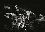 OSLO 2014-10-15: Reportasje fra Oslo Sporveiers vedlikeholdsgruppe. FOTO:WERNERJUVIK
