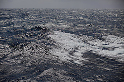 ATLANTIC OCEAN ABOARD ARCTIC SUNRISE 19MAY11 - Stormy weather in the northern Atlantic Ocean...Photo by Jiri Rezac / Greenpeace