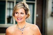 """Koningin Máxima woont donderdagavond 22 mei 2014 het galaconcert van de """"Koninklijke Sophia's Vereen"""