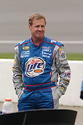 Jun 18, 2005; Brooklyn, MI, USA; Rusty Wallace waits for his turn to qualify for the Batman Begins 400 at the Michigan International Speedway.