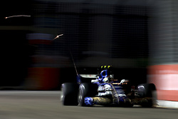 September 16, 2017 - Singapore, Singapore - Motorsports: FIA Formula One World Championship 2017, Grand Prix of Singapore, ..#94 Pascal Wehrlein (GER, Sauber F1 Team) (Credit Image: © Hoch Zwei via ZUMA Wire)
