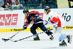 Joseph Doran of USA at IIHF In-Line Hockey World Championships 2011 Top Division Gold medal game between National teams of Czech republic and USA on June 25, 2011, in Pardubice, Czech Republic. (Photo by Matic Klansek Velej / Sportida)