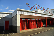 The Checatrade.com Stadium, during the EFL Sky Bet League 2 match between Crawley Town and Lincoln City at the Checkatrade.com Stadium, Crawley, England on 17 February 2018. Picture by Alistair Wilson.