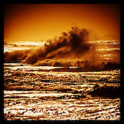 Stoirm Wave in Afternoon Sun, East Coast Australia