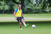 Forest Green Rovers Darren Carter during the Forest Green Rovers Training at the Cirencester Agricultural College, Cirencester, United Kingdom on 12 July 2016. Photo by Shane Healey.