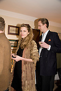 SARA BRAJOVIC; FREDERICK SCHRODER, Aatish Taseer  book launch party for his new book Stranger To History. Travel book asks what it means to be a Muslim in the 21st century. Hosted by Gillon Aitken. Kensington, London. 30 March 2009
