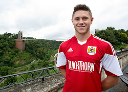 Wes Burns of Bristol City - Photo mandatory by-line: Kieran McManus/JMP - Tel: Mobile: 07966 386802 31/07/2013 - SPORT - FOOTBALL - Avon Gorge Hotel - Clifton Suspension bridge - Bristol -  Team Photo