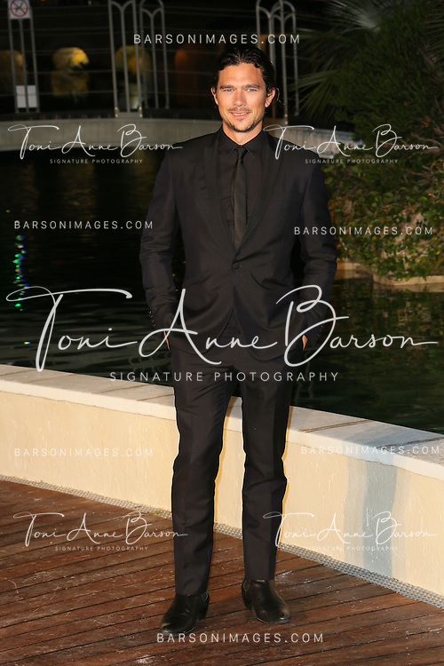 "MONTE-CARLO, MONACO - JUNE 10:  Luke Arnold attends ""Black Sails STARZ"" Party  at the Monte Carlo Bay Hotel on June 10, 2014 in Monte-Carlo, Monaco.  (Photo by Tony Barson/FilmMagic)"