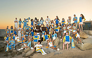 UCLA Sprit Squad - 2016-2017 Group photos of the entire squad, Will Rodgers State Beach, Los Angeles, CA.<br /> May 22nd, 2016<br /> Copyright Don Liebig/ASUCLA<br /> 160522_SPRT_2078.NEF