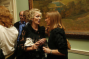 Harriet Sergeant  and Corinna Honan, Book launch of 'A Much Married Man' by Nicholas Coleridge. English Speaking Union. London. 4 May 2006. ONE TIME USE ONLY - DO NOT ARCHIVE  © Copyright Photograph by Dafydd Jones 66 Stockwell Park Rd. London SW9 0DA Tel 020 7733 0108 www.dafjones.com