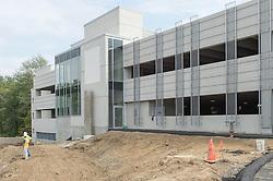 Bridgeport Hospital - Park Avenue Campus Outpatient Center<br /> Architect: Shepley Bulfinch  Contractor: Gilbane Building Company, Glastonbury, CT.<br /> James R Anderson Photography   New Haven CT   photog.com<br /> Date of Photograph: 11 September 2014