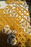 Detail des Portal des Ernst-Ludwig-Hauses, Mathildenhöhe, Jugendstil, Darmstadt, Hessen, Deutschland | Centre of Art Noveau on Mathildenhoehe, Darmstadt, Germany